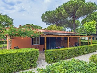 Ferienhaus - 6 Personen*, 30m² Wohnfläche, 2 Schlafzimmer, Garten, Internetzuga