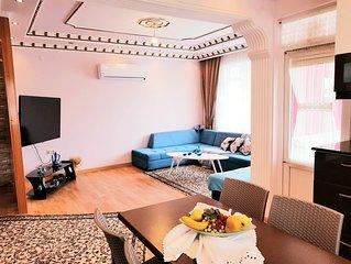Antalya / Konyaalti 3+1 Lux Apartment 150m2 with elevator.