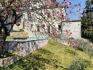 Arcobaleno, Swimming-Pool und Terrasse mit Seeblick