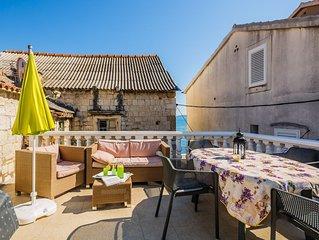 Ferienwohnung Villa Mirakul  A3(4+1) with big terrace  - Kastel Novi, Riviera Sp
