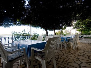 Apartment direkt am Meer der Insel Rab mit private Strand