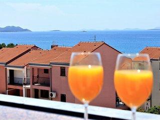 Ferienwohnung Olive  A3(4+1)  - Biograd, Riviera Biograd, Kroatien