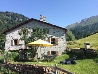 Ferienhaus Poschiavo für 8 Personen mit 4 Schlafzimmern - Ferienhaus