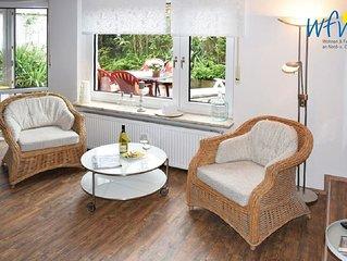 Komfortable Ferienwohnung mit zwei separaten Schlafzimmern und Terrasse!