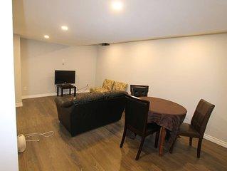 2 Bedrooms Basement Apartment at Milton.