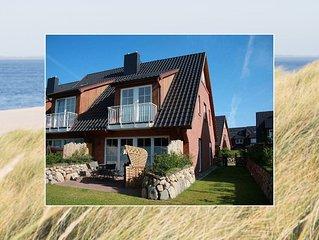 Ferienhaus mit Garten, mitten in List für bis zu 6 Personen + Hund