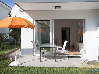 Modernes Gartenapartment, absolute Ruhelage, Strandfussläufig CC5