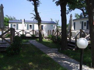 Ferienhaus - 5 Personen*, 24m² Wohnfläche, 2 Schlafzimmer, Internet/WIFI