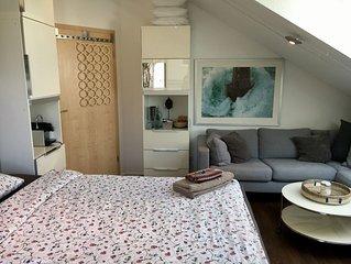 Edle Gästezimmer in Privatwohnung in toller Aussichtslage Nahe BOSCH und PORSCHE