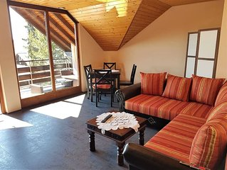 Ferienwohnung, 70qm, Balkon, 2 Schlafzimmer, max. 4 Personen