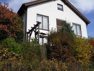 Ferienhaus in der Südpfalz, 160 m2 Luxus und Gemütlichkeit