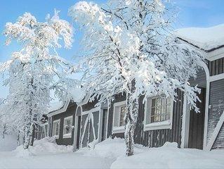 Ferienhaus Tunturikuksa in Inari - 5 Personen, 1 Schlafzimmer