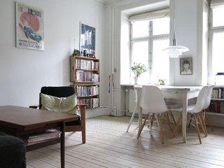 City Apartment in Frederiksberg Kommune mit 2 Schlafzimmern 3 Schlafplätzen