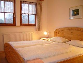 Ökohaus 2, 45qm, 1 Schlafzimmer, max. 4 Personen