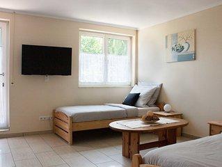 Kleine Ferienwohnung mit Terrasse für 2 Personen