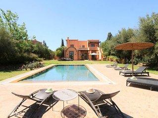 Villa sur Samanah Golf Club - Vue imprenable sur l'Atlas et sur le Golf