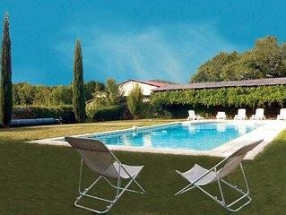 Gite 5 prs. 2 cbres. piscine. Centre Drôme idéal pour découvrir Drome et Ardéche