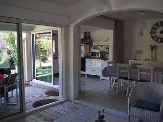 Maison avec accès privé à la plage (20 M) à Frontignan-Plage