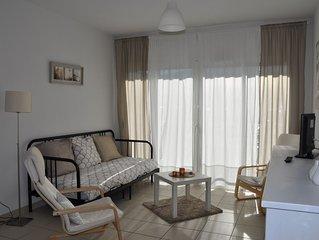 Appartement 3 personnes avec balcon