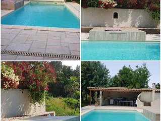 Villa avec piscine 160 m2 10 mn plage