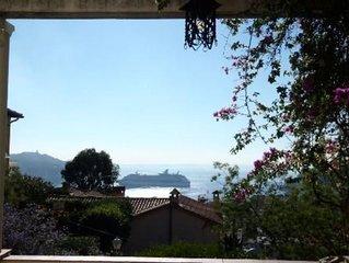 Villa De Charme abordable a Villefranche-sur-mer sur La Vraie Cote D'Azur