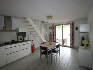 Coquette villa 6 couchages type 4 pièces avec terrasse et garage