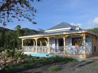 villa touristique individuelle sur bouillante.