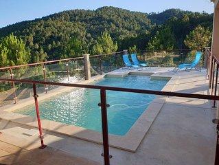 Magnifique Villa de 123 m² avec piscine privée et vue exceptionnelle