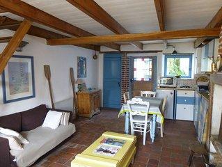 Authentique petite maison de pêcheur, 4 personnes, jardin