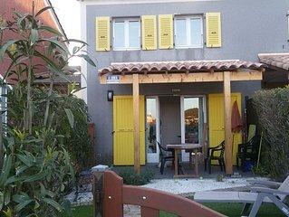 Le BARCARES-Ile des Pecheurs-Maison T3/5p-Res. Pisc./Toboggan/sauna/jacuzzi...