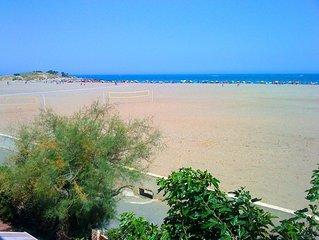Grand T4 a 15 metres de la plage - Vue  panoramique sur la mer