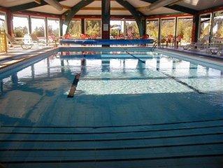 appartement gite pour 4 pers ,acces piscine chauffee inclus