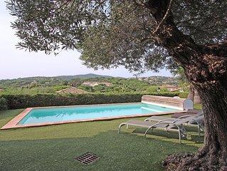 Villa T4 - 6/8 personnes - Piscine privee - WiFi - Climatisation - Sainte Maxime