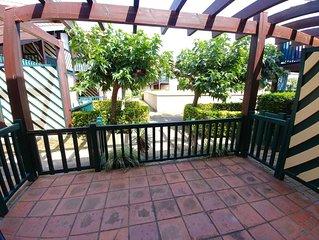 Villa patio T4/clim/piscine/a 200m plage CAPBRETON