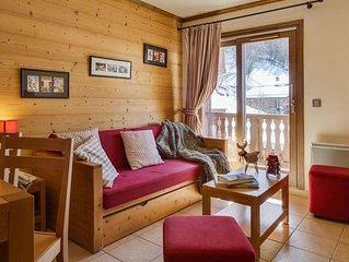 Wifi, remise en forme, piscine, balcon, television, casier a ski, 40-45m2, Saint