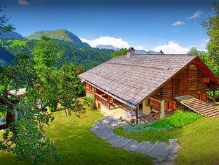 Belle ferme 3* de caractere au coeur des Alpes - Sauna, Wifi - OVO Network