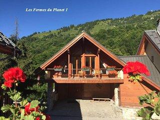 FERM2 - Appartement de charme spacieux en duplex - 6/8 pers - cheminée SPA sauna