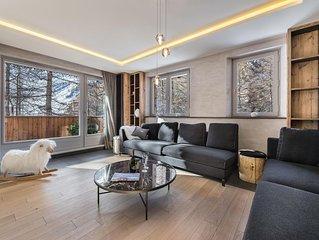 Appartement duplex très luxueux avec spa de nage et salle de cinéma
