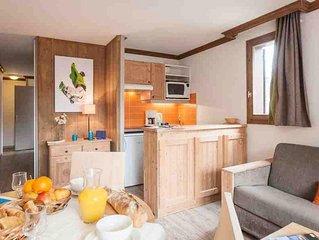 Residence Pierre & Vacances Les Chalets de Solaise - Studio 3/4 Personnes Standa