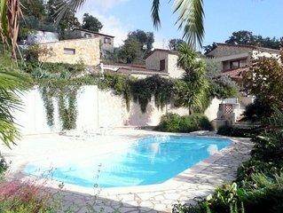 Maison de vacances avec piscine privée sur la Côte d'azur