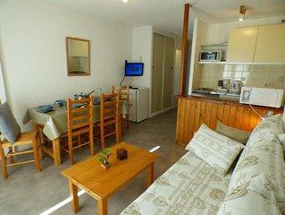 2 pièces cabine 32 m² orienté SUD/EST