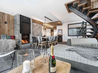Canadienne 8 : Luxueux appartement situe dans un hameau privilegie