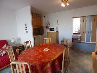 Appartement Jullouville, 2 pieces, 4 personnes
