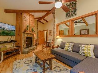 2BR, 2BA Cabin Near Blowing Rock, NC; Near Ski Slopes, Grandfather Mtn, Tweetsie