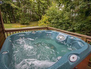 Newer Hot Tub Located on the Deck