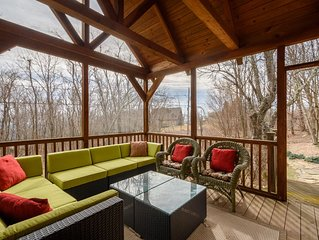 4BR, Near Boone, Blowing Rock, Ski Resort, Outdoor Fireplace, Granite/Stainless,