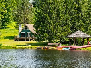 Adorable Lakefront Chalet