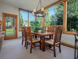 RMR: Mountain Views from this Convenient Aspens Unit