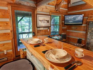 Cozy Cabin In Valle Crucis, Hot Tub, Creek, Fire Pit, Watauga River Access!