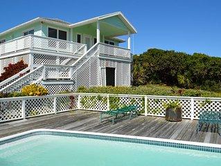 An estate in paradise; facing the ocean w/ a guest pool, near Tahiti Beach!
